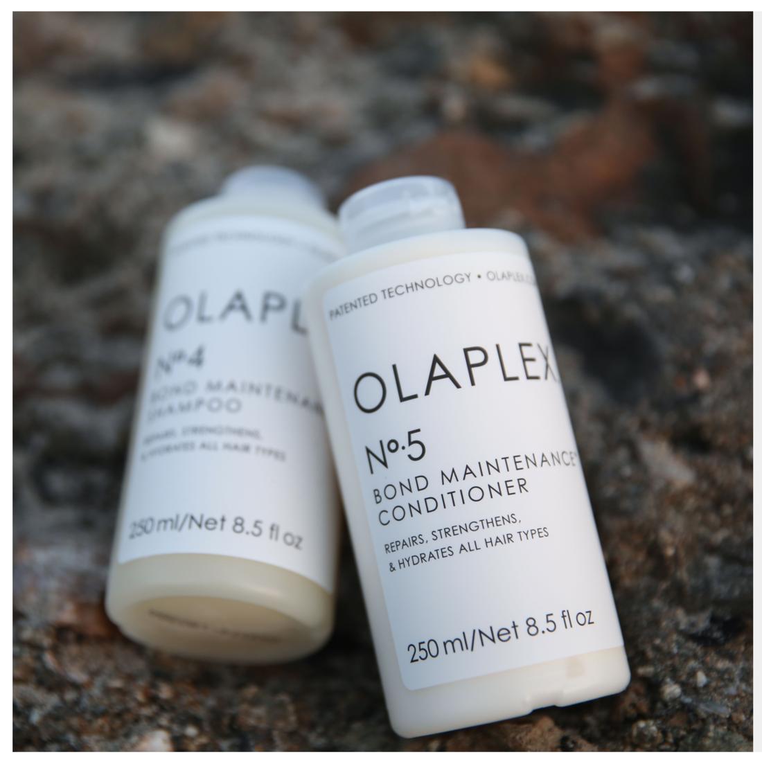 Olaplex no.4 Shampoo and Olaplex no.5 Conditioner